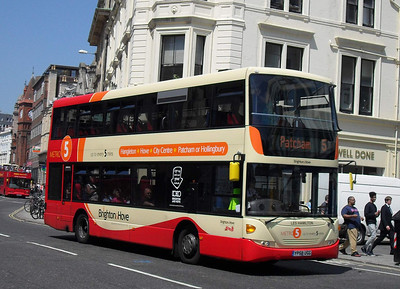 707 - YP58UGG - Brighton (North St) - 4.6.10