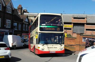 688 - YN57FYH - Tunbridge Wells (railway station) - 2.4.13