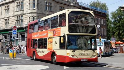 672 - YN07UOU - Brighton (Castle Square)