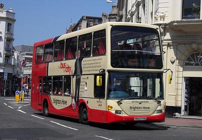 679 - YN57FYB - Brighton (North St) - 4.6.10