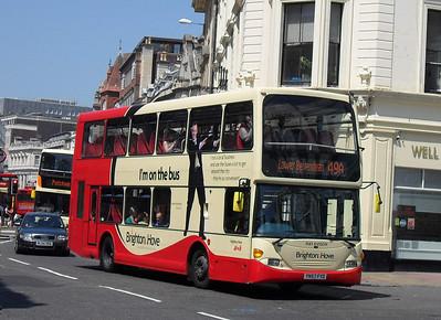 676 - YN57FYD - Brighton (North St) - 4.6.10