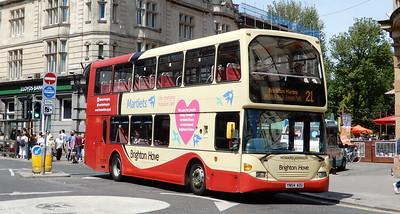 642 - YN54AOU - Brighton (Castle Square)