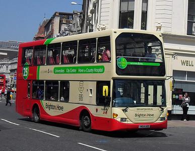 638 - YN54AOO - Brighton (North St) - 4.6.10