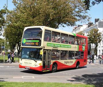 637 - YN54AOM - Brighton (Old Steine) - 16.6.12