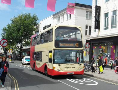 641 - YN54AOT - Brighton (Western Road) - 16.6.12