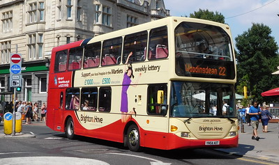 641 - YN54AOT - Brighton (Castle Square)