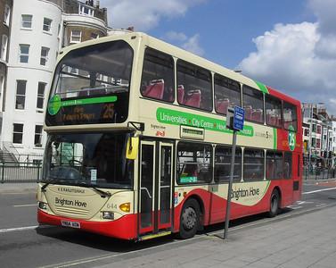 644 - YN54AOW - Brighton (Gloucester Place) - 11.7.11