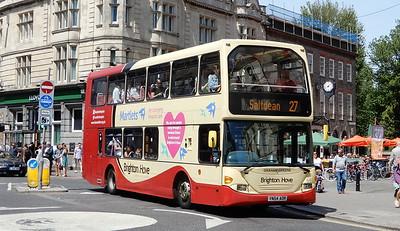640 - YN54AOR - Brighton (Castle Square)