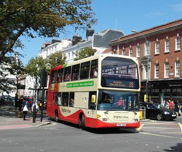 642 - YN54AOU - Brighton (Old Steine) - 16.6.12