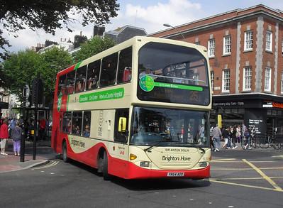 638 - YN54AOO - Brighton (Old Steine) - 11.7.11
