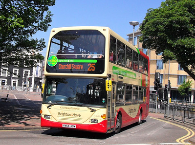 644 - YN54AOW - Brighton (York Place) - 4.6.10