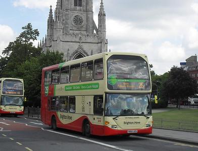 643 - YN54AOV - Brighton (Gloucester Place) - 11.7.11