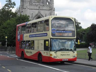 646 - YN54AOY - Brighton (Gloucester Place) - 11.7.11