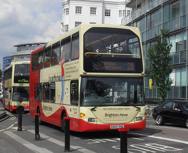 614 - GX03SVE - Brighton (Old Steine) - 11.7.11