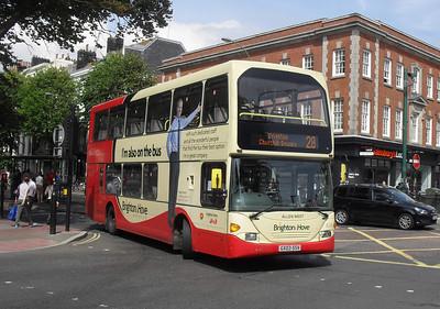 616 - GX03SSV - Brighton (Old Steine) - 11.7.11