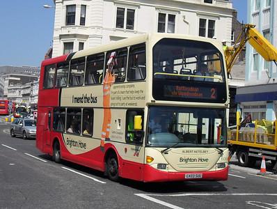 608 - GX03SUU - Brighton (North St) - 4.6.10