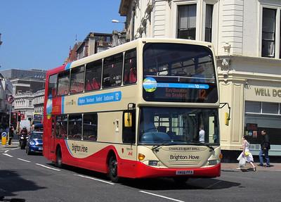 901 - YN56FFA - Brighton (North St) - 4.6.10