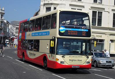 911 - YN56FFM - Brighton (North St) - 4.6.10