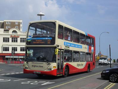912 - YN56FFO - Brighton (Old Steine) - 11.7.11
