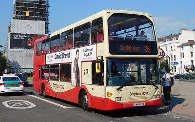 906 - YN56FFG  - Brighton (St. Peter's Church)