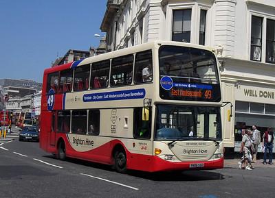 670 - YN06SZZ - Brighton (North St) - 4.6.10