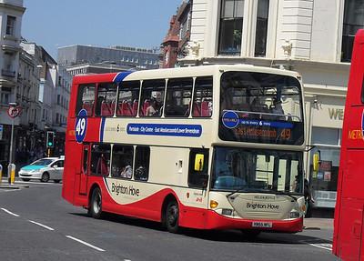 659 - YN55NFL - Brighton (North St) - 4.6.10
