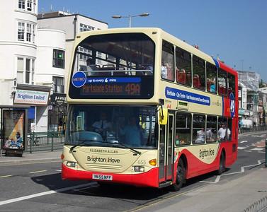 655 - YN55NFF - Brighton (Gloucester Place) - 4.6.10