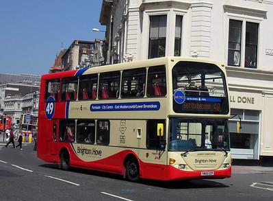 653 - YN05GZP - Brighton (North St) - 4.6.10