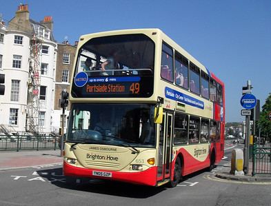 653 - YN05GZP - Brighton (York Place) - 4.6.10