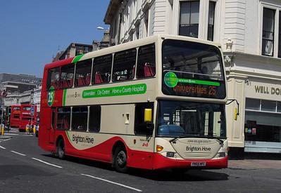 664 - YN55NFC - Brighton (North St) - 4.6.10