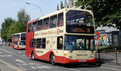 659 - YN55NFL - Brighton (Churchill Square)