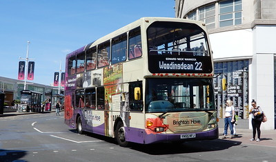 662 - YN55NFJ - Brighton (Churchill Square)