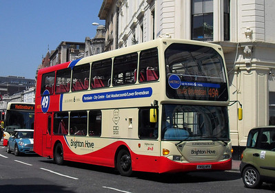 658 - YN55NFK - Brighton (North St) - 4.6.10