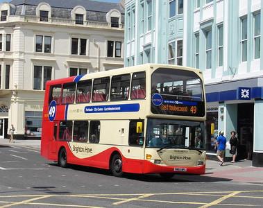 659 - YN55NFL - Brighton (North St) - 16.6.12