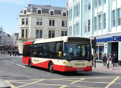54 - YN58BCO - Brighton (North St) - 16.6.12