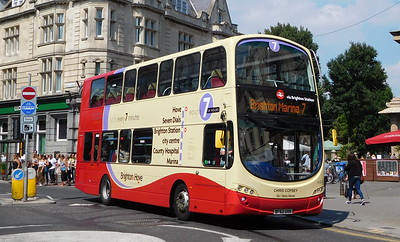 444 - BF62UXK - Brighton (Castle Square)