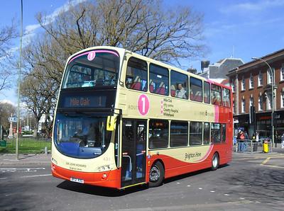 431 - BF12KXG - Brighton (Old Steine) - 10.4.12