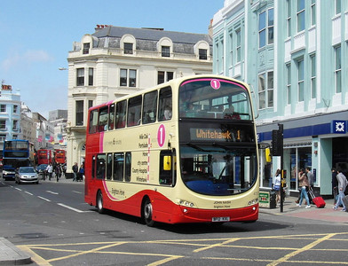 433 - BF12KXL - Brighton (North St) - 16.6.12