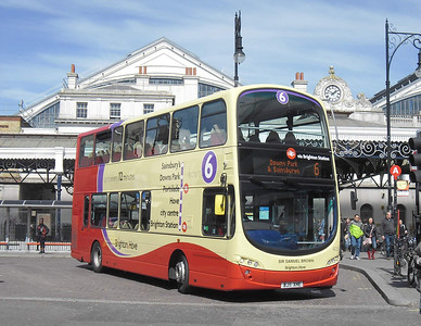 405 - BJ11XHE - Brighton (railway station) - 10.4.12