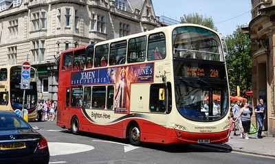 409 - BJ11XHK - Brighton (Castle Square)