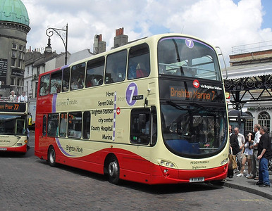 418 - BJ11XHU - Brighton (railway station) - 11.7.11