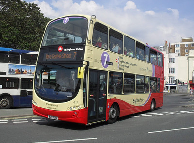 413 - BJ11XHO - Brighton (Old Steine) - 11.7.11