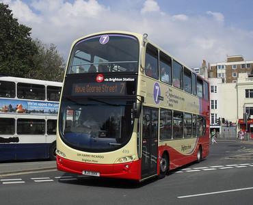 419 - BJ11XHV - Brighton (Old Steine) - 11.7.11
