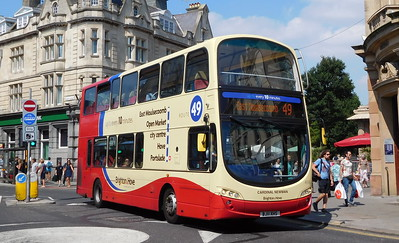 416 - BJ11XHS - Brighton (Castle Square)
