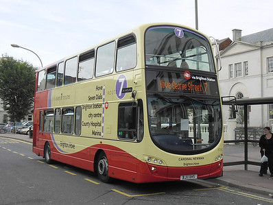 411 - BJ11XHS - Brighton (Old Steine) - 31.8.11