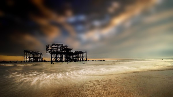 West Pier Sunset