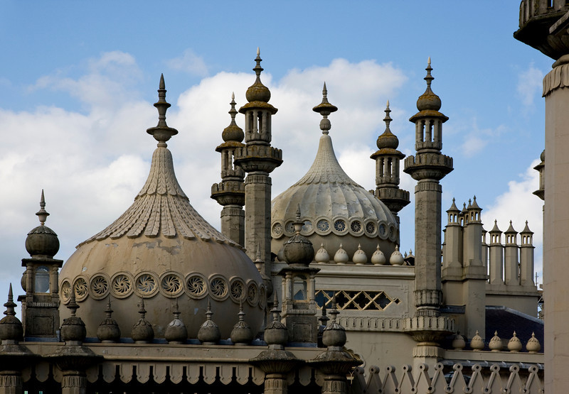 Royal Pavilion Domes in Brighton Sussex