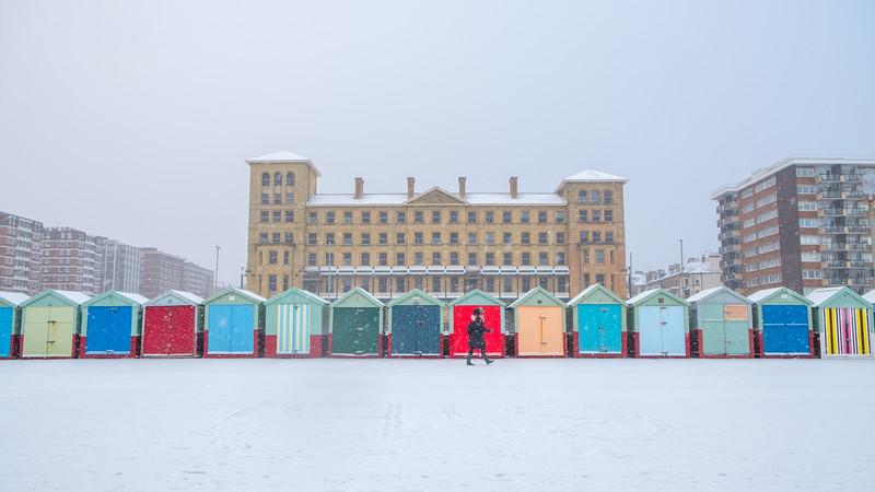 Brighton snow