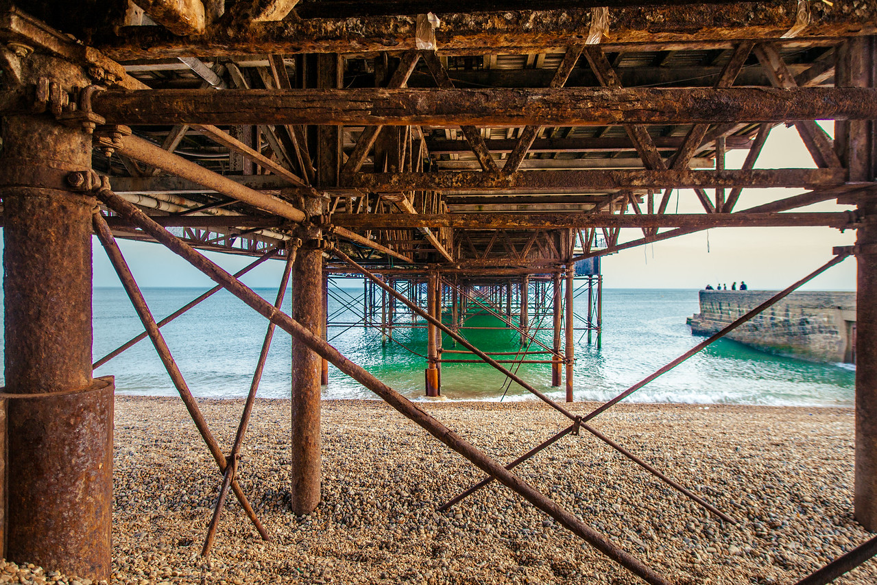 Under the Brighton Palace Pier