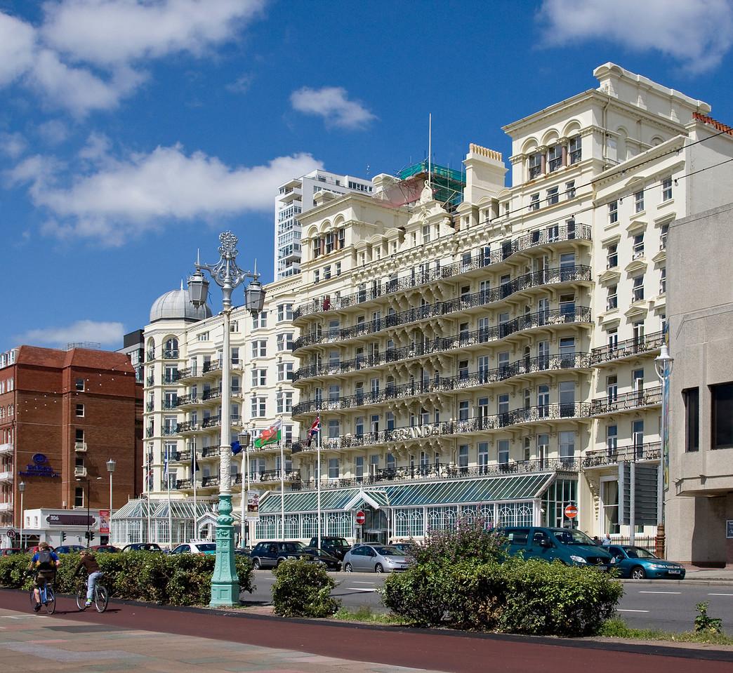 The Grand Hotel in Brighton